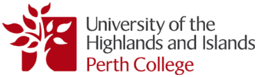 Perth College UHI Logo